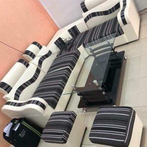 Ghế sofa da pha nỉ - SFMV01