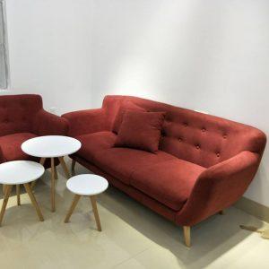 Ghế sofa văn nỉ 3 chỗ dài 2m - SFMV04